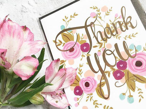 Selection of Thank You Cards
