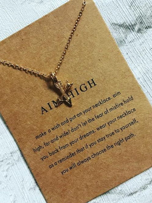 'Aim High' Necklace