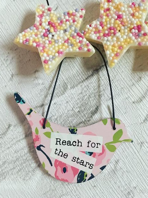 Mini 'Reach for the Stars' Sign