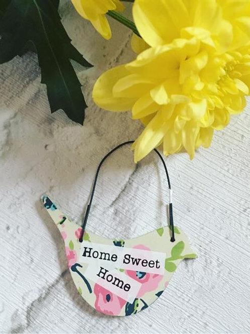 Mini 'Home Sweet Home' Sign