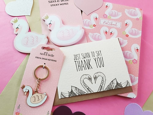 Swan To Say Thank You Box