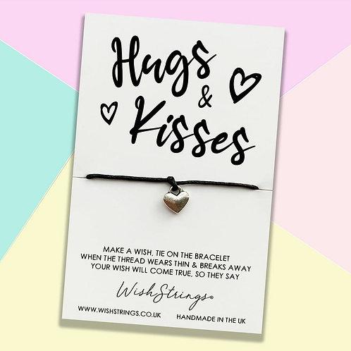 Hugs & Kisses Wish Bracelet
