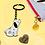 Thumbnail: Barney the Dog Keyring