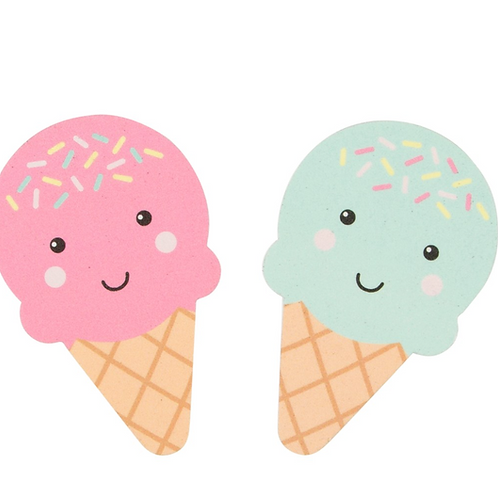 Ice Cream Nail Files x 2