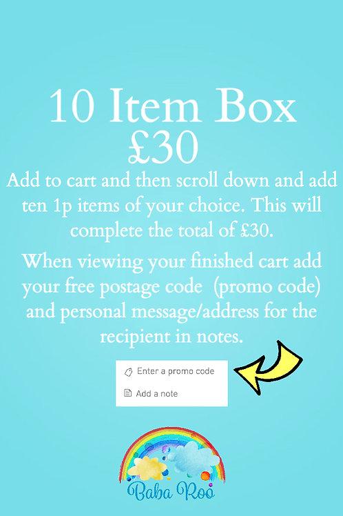 10 Item Happy Mail Box