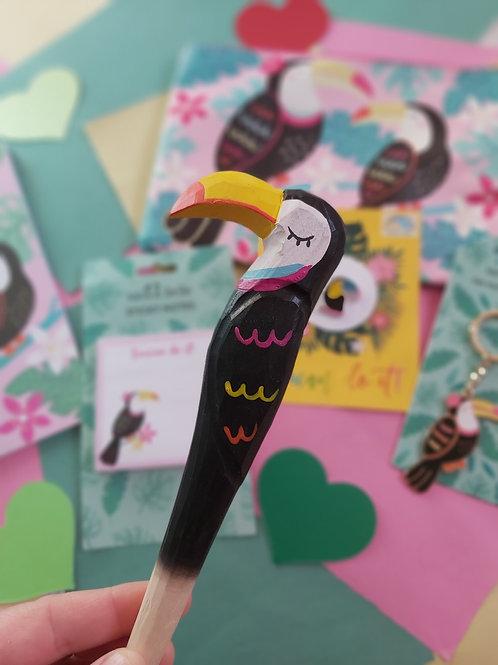 Toucan Wooden Pen