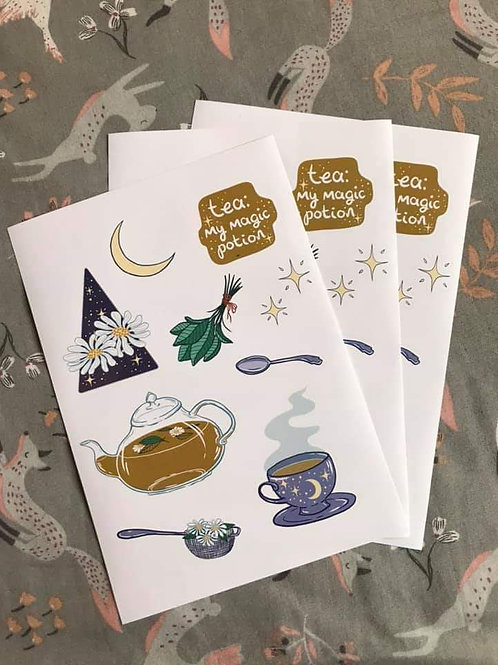 Tea: My Magic Potion Stickers