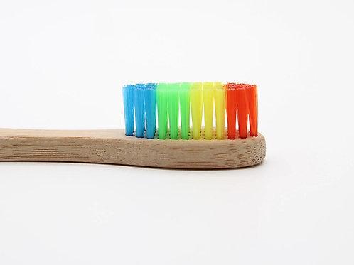 Rainbow Bamboo Toothbrush