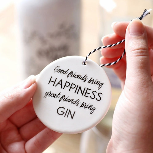Friends Bring Gin Hanging