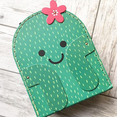 Cute Cactus Suitcase