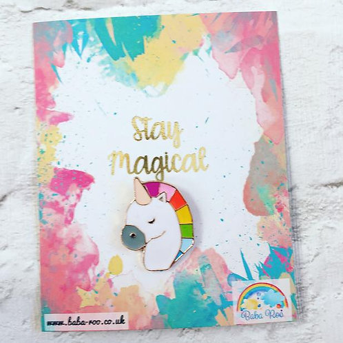 'Stay Magical' Brooch