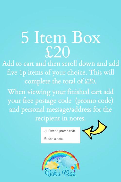 5 Item Happy Mail Box