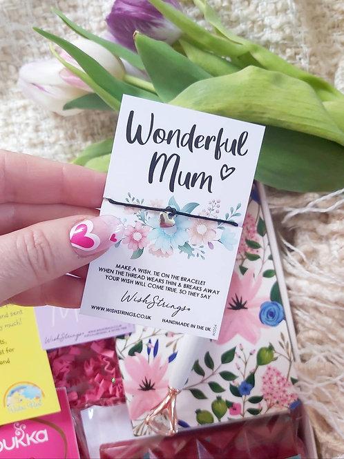 Wonderful Mum Wishstring Bracelet