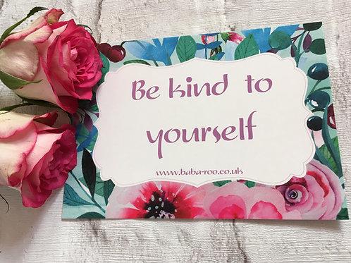 Motivational Postcard- Kind