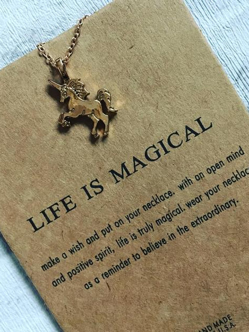 'Life is Magical' Necklace