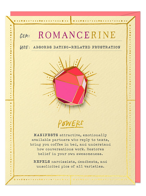 Romancerine Brooch & Card