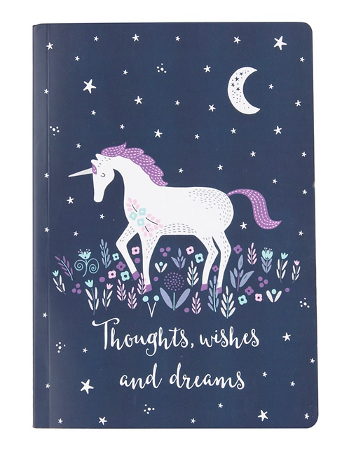 Thoughts, Wishes & Dreams Notebook