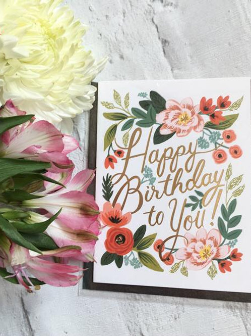 Selection of Birthday Cards