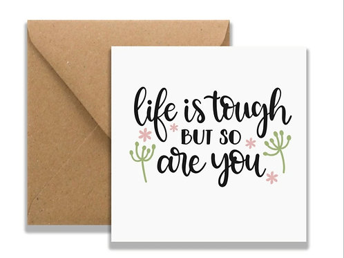 Square Card- Choice of 3 designs