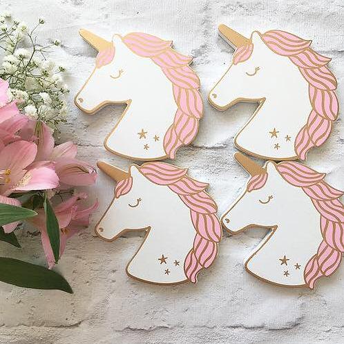 Unicorn Coasters- Set of 4
