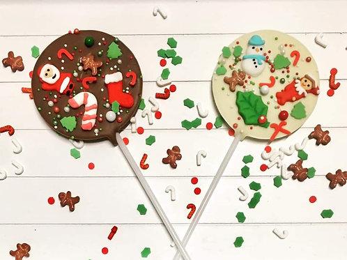 Chocolate Christmas Lolly