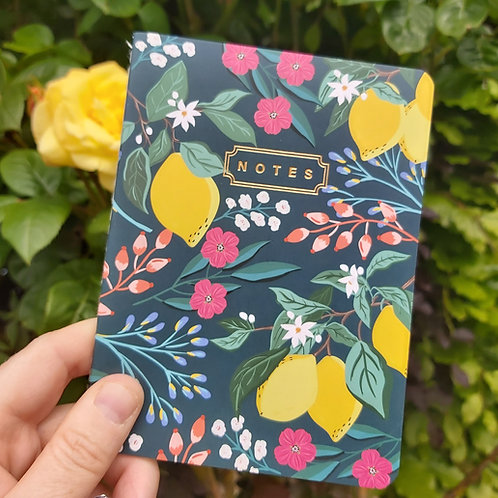 Floral & Lemon Notebooks