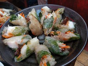 タイワンツチイナゴの揚げ春巻き