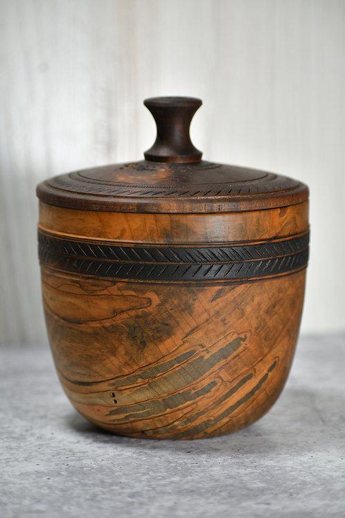 Walnut and Ambrosia Maple Trinket Box