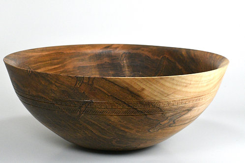 "12 1/2"" Ambrosia Maple Bowl"