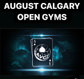 August Open Gyms Are Now Open For Registration!