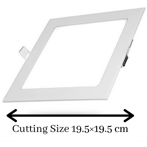 18 Watt Square Warm White (Yellow) Led Conceal Light for POP/ Recessed Lighting