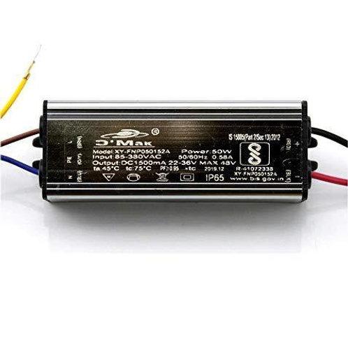 50W 1500mA Power Supply IP65 Led Driver 85-380V AC (Grey)
