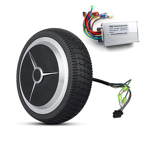 6 Inch 24V 350W Electric Bicycle BLDC Wheel Hub Motor with Controller