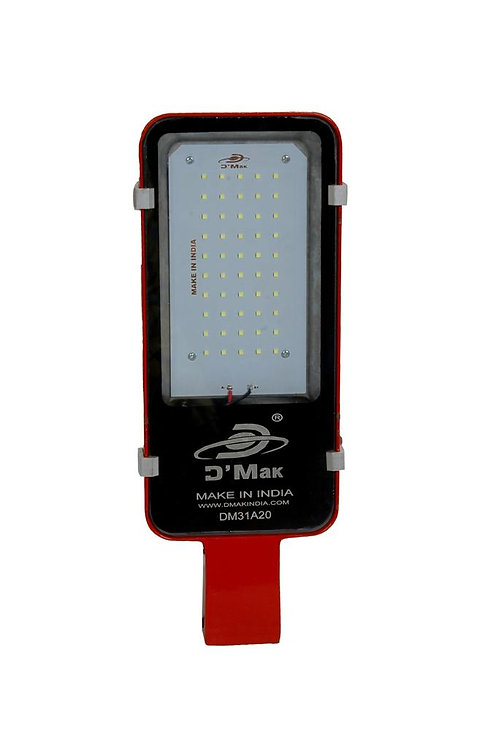 50 Watt Waterproof Red body Led Street Light for Outdoor Purposes