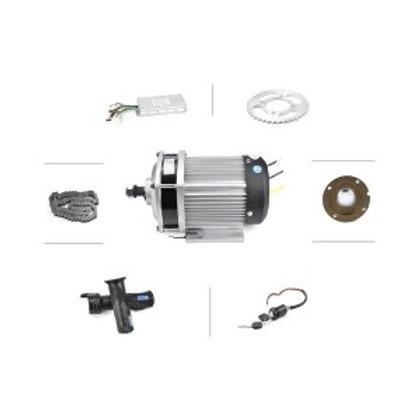 MY1020 Unite 36V 1000W Brushed Permanent Magnet Electric MotorDC 48V 1500W