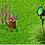 Thumbnail: 5 Watt LED Spike Garden Light for Outdoor Purposes (Green)