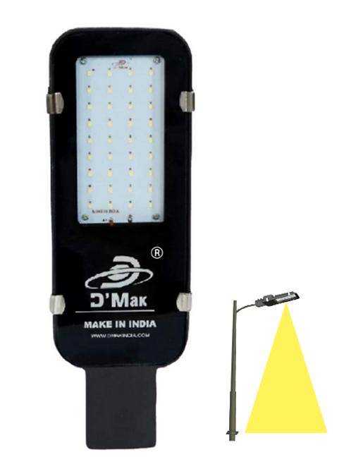 30 Watt Waterproof Led Grey Body Street Light for Outdoor Purposes Warm White (Y