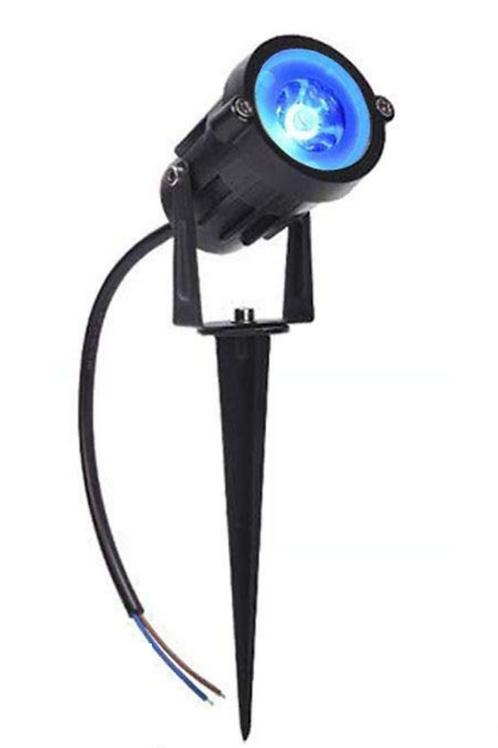 9 Watt LED Spike Garden Light for Outdoor Purposes (Blue)