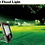 Thumbnail: 100 Watt Waterproof (5054 Model) Slim LED Flood Light For Outdoor Purposes