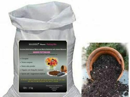 5 kG Organic Potting Mixture, Soil