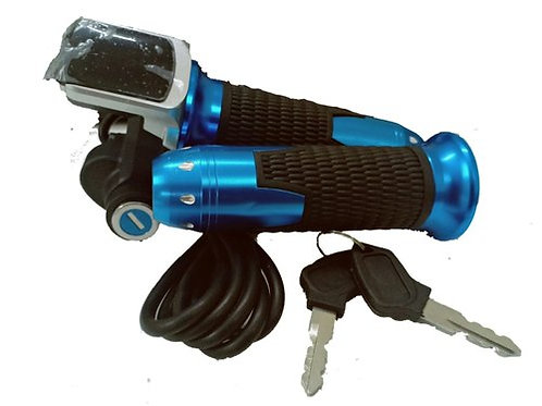 24V Throttle Twist Grip For Scooter Motor E-Bike with battery indicator