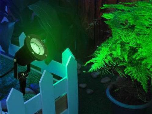 3 Watt LED Spike Garden Light for Outdoor Purposes (Green)