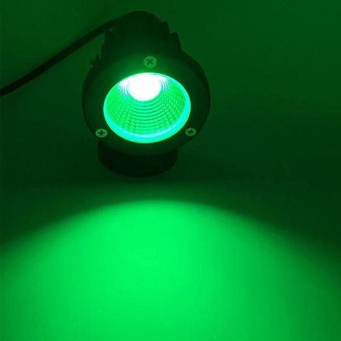 5 Watt LED Spike Garden Light for Outdoor Purposes (Green)