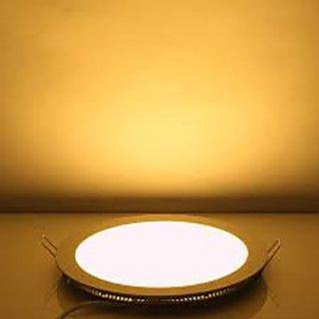 3 Watt Round Warm White (Yellow) Led Conceal Light for POP/ Recessed Lighting