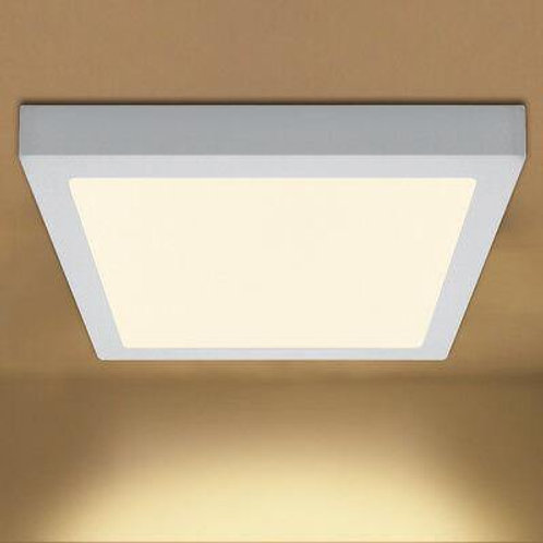 12 Watt Square Surface Led Panel Light (Warm White)