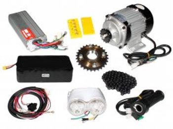 E-Bike 48V 400RPM 750W BLDC Geared Motor with Complete E-Bike Accessories Kit