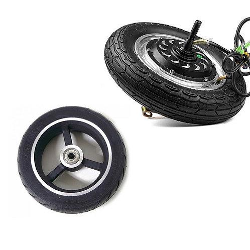 8 Inch 24V 350W hub kit Drum Brake Electric Bicycle BLDC Wheel Hub Motor