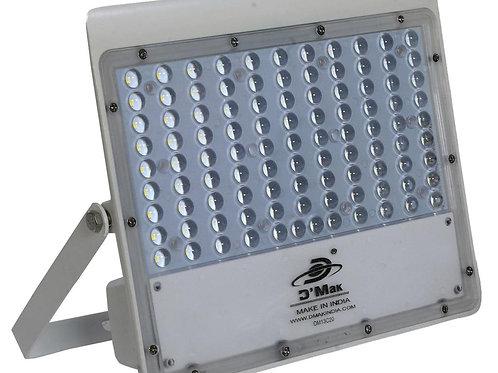 100 Watt LED White Body Flood Light with Lens