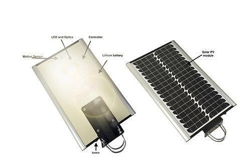 24w- All in one solar led street light