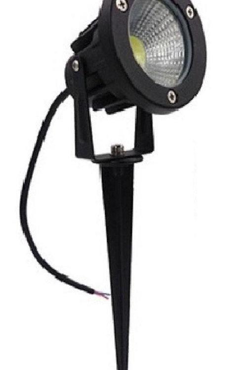 9 Watt LED Spike Garden Light for Outdoor Purposes( white)
